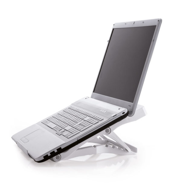 Portable ErgoNotebook Stand